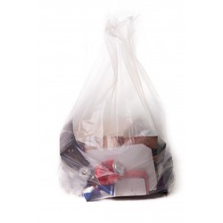 "Apollo Clear Refuse Sacks - 18x29x39"" - 140g - Box of 200"