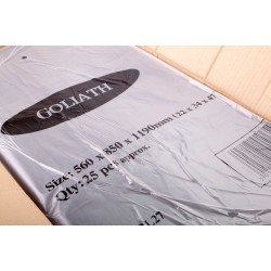 "Goliath Extra Heavy Duty Compactor Sacks - 22x34x47"" - 280g - Box of 100"