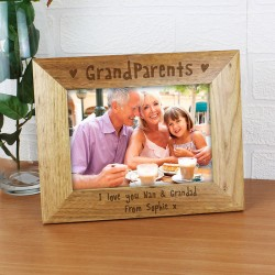 Personalised 5x7 Grandparents Picture Frame