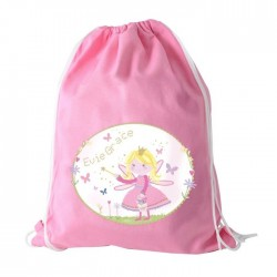 Personalised Garden Fairy Swim & PE Kit Bag