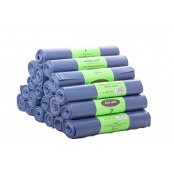 "Blue Rubble Sacks On Rolls - 20x30"" - 400g - Box of 140"