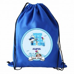 Personalised Pirate Swim & PE Kit Bag