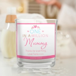 Personalised One in a Million Scented Candle