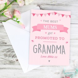 Personalised 'Promoted To' Card
